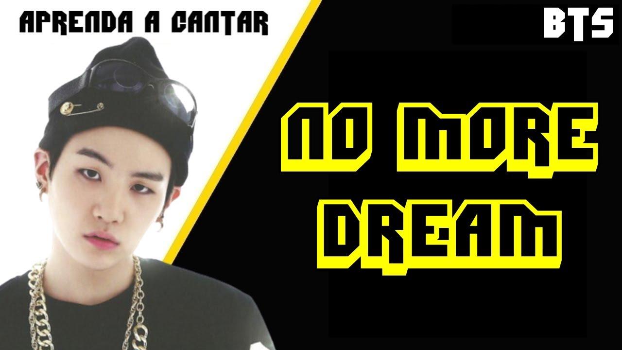 Aprenda a cantar BTS - NO MORE DREAM (letra simplificada)