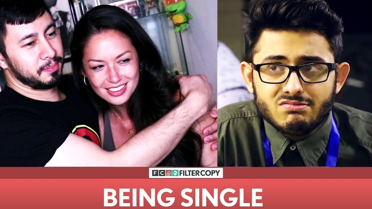 FILTER COPY BEING SINGLE ft CarryMinati | Reaction & Joli's Bad Date!