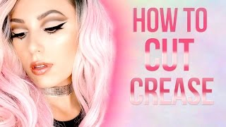 How To Cut Crease | Bold Eye Makeup Tutorial | Victoria Lyn Beauty