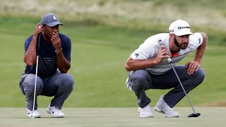 Tiger Woods vs Dustin Johnson Match | First Round US Open 2020