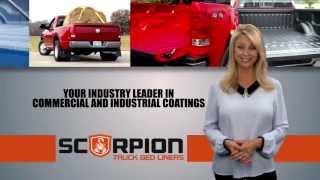 Truck Bed Liner Distributor - Scorpion Protective Coatings