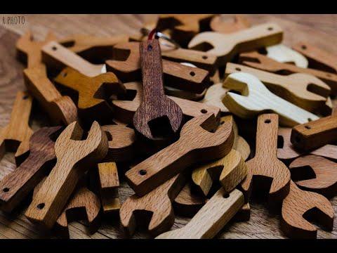 wooden keychain / best keychain idea / DIY keychain