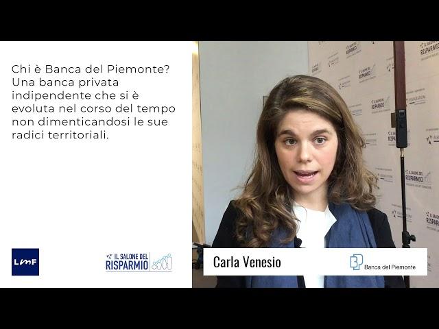 Carla Venesio (Banca del Piemonte) - SdR19