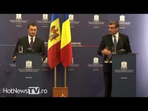 Conferinta Vlad Filat si Teodor Baconschi