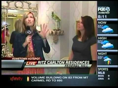 The Ritz-Carlton Residences, Inner Harbor Baltimore - BSO Decorators Showhouse - FOX45 NEWS - 8am