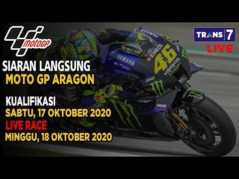 JADWAL SIARAN LANGSUNG MOTO GP HARI INI GP ARAGON SERI 10 LIVE TRANS 7