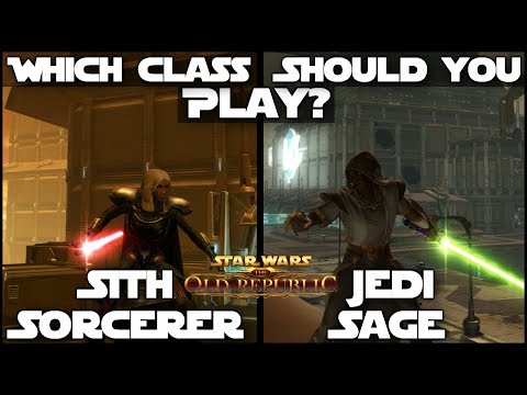 Which Class Should You Play? - Sith Sorcerer / Jedi Sage | Star Wars: The Old Republic