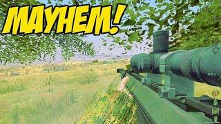 ARMA 2 DAYZ - MAYHEM!