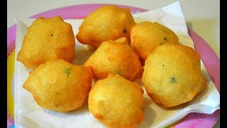 Aloo Bonda - How To Make Alu Bonda Recipe In Hindi - Batata Vada