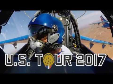 PAFUSTour : La Patrouille de France survole l'Ouest américain