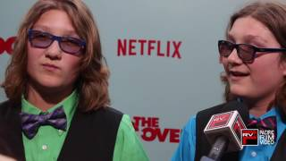 Zakk Paradise and Xander Paradise of The Do Over excited to see David Spade again