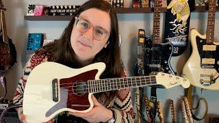 Fender Fullerton Jazzmaster Ukulele Demo with Weird Pedals