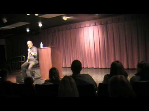 "Mark Marimen of ""Haunted Indiana"" speaks at PUC"