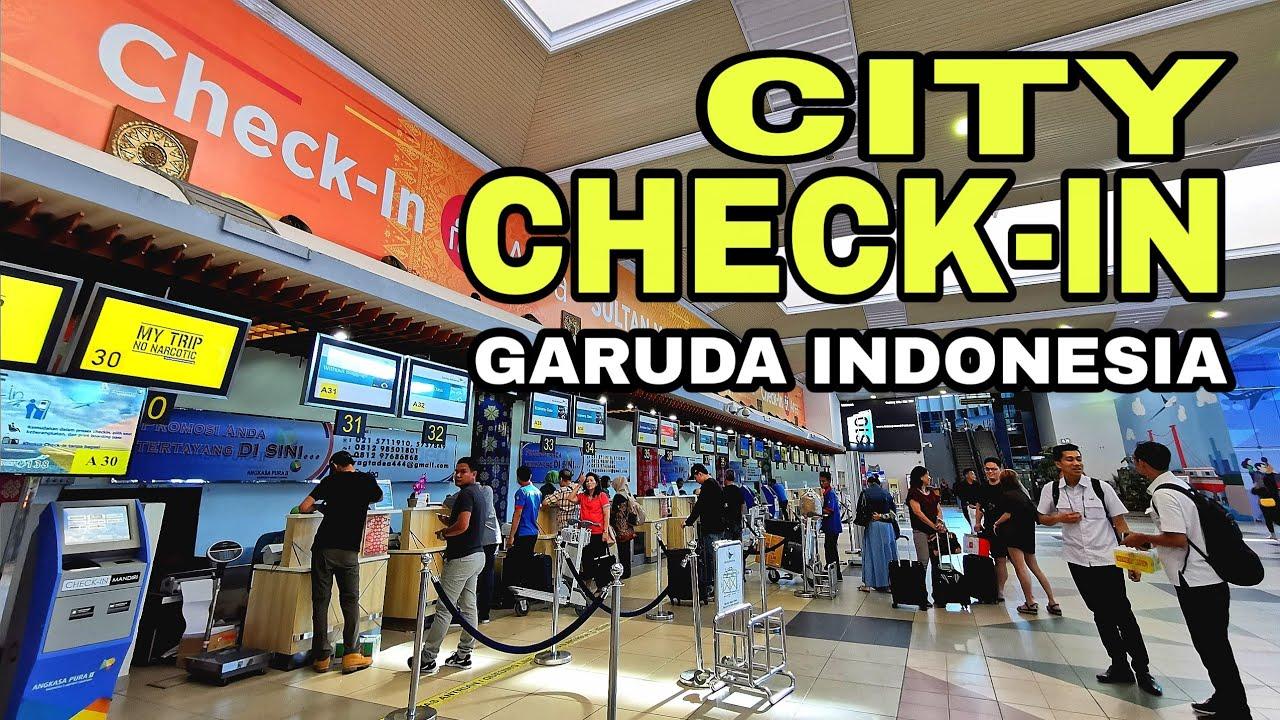 [Traveling] City Check-In Garuda Menggunakan Aplikasi Garuda Indonesia di Handphone Android