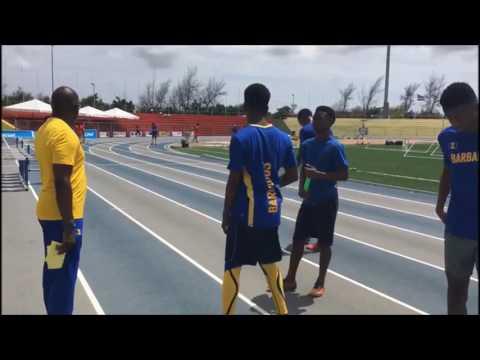 Team Barbados CARIFTA Training