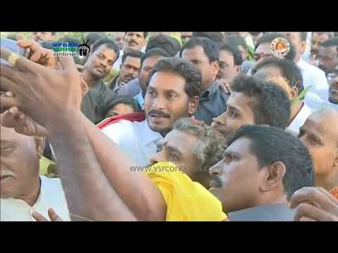 YS Jagan prajasankalpa yatra starts in Anantapur District and Enters Chittoor District on 46th Day