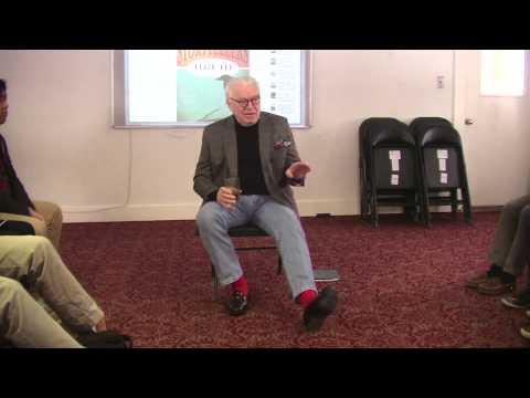 Frank Delaney speaks to South Kent School