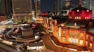 New York v.s. Tokyo night view