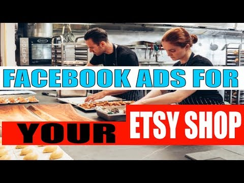 Step by Step facebook ads tutorial Selling Etsy Shop for beginners