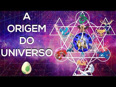 A CRIAÇÃO DO MUNDO POKÉMON   A Origem do Universo Pt.1