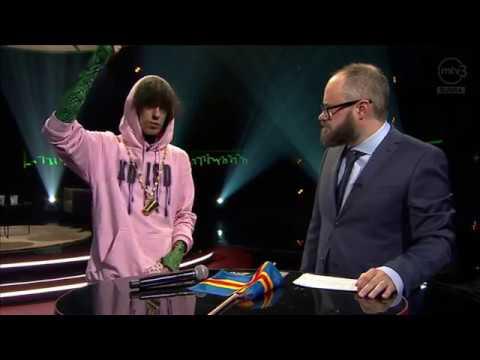 Slim Mill Haastattelu Live - MTV 3 Enbuske, Veitola & Salminen