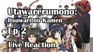 Utawarerumono - Itsuwari no Kamen Ep2 Live Reaction Part2