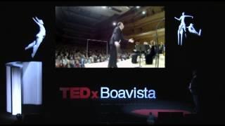 Move a mente: José Eduardo Gomes at TEDxBoavista