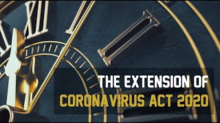 EP-11 - The Extension of Coronavirus Act