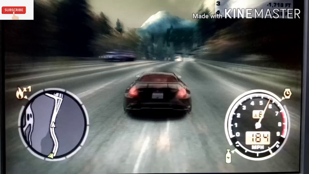 Need for speed most wanted gamplay-high speed