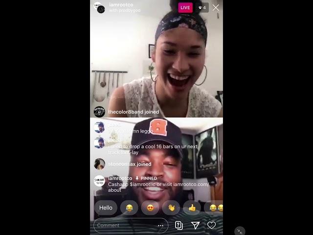 Niamey interviews Zil on Instagram Live 05-07-20