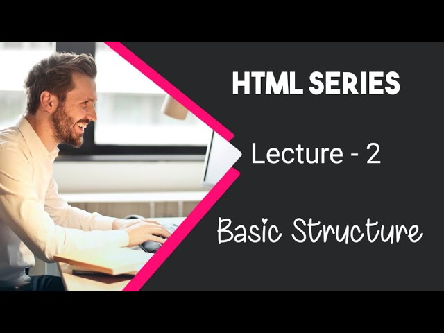 Learn HTML in Urdu / Hindi by AK - Basic Structure - Lecture 2