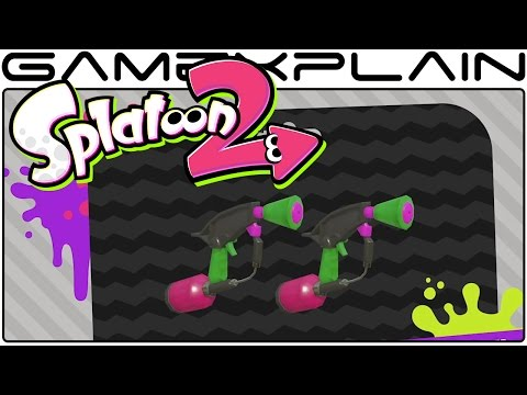 Splatoon 2 Global Testfire - Weapons Trailer