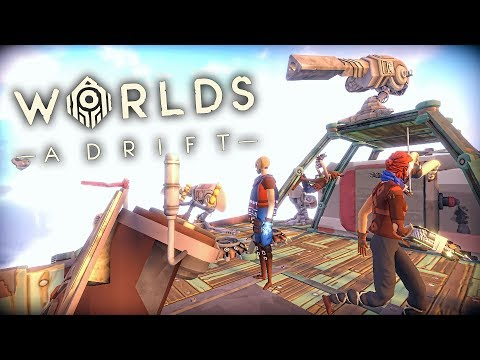BUILDING A FAST ATTACK SHIP!!! | Worlds Adrift Closed BETA Gameplay (PC)