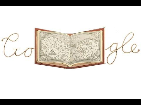 """Abraham Ortelius: el homenaje de Google al creador del """"teatro del mundo"""""""