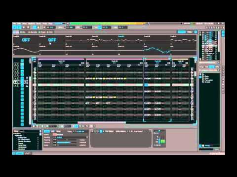 FFZ - Kronológia 7 prv  /Renoise 3 tracker music live recording.. /