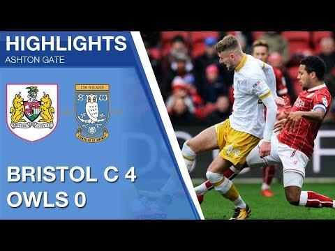 Bristol City 4 Sheffield Wednesday 0 | Extended highlights 2017/18