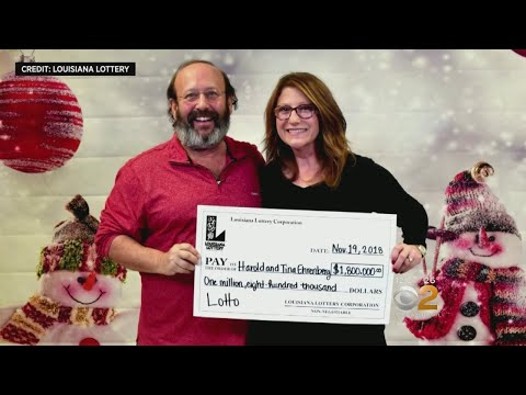 Louisiana Couple Finds Winning Lottery Ticket While Cleaning