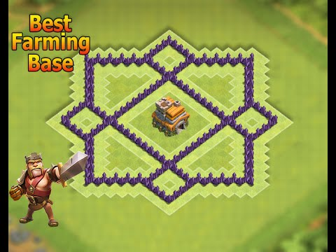 CoC - ''NEW!'' Town Hall 7 (TH7) Farming (HYBRID) Base Anti 3 Star Base (New Update) Clash Of Clans