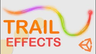HOW TO MAKE COOL TRAIL EFFECTS - UNITY TUTORIAL