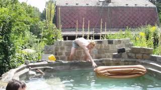 v+m svatba - bazén