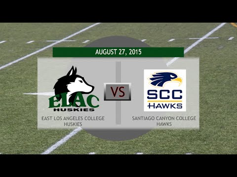 East Los Angeles City College VS. Santiago Canyon College