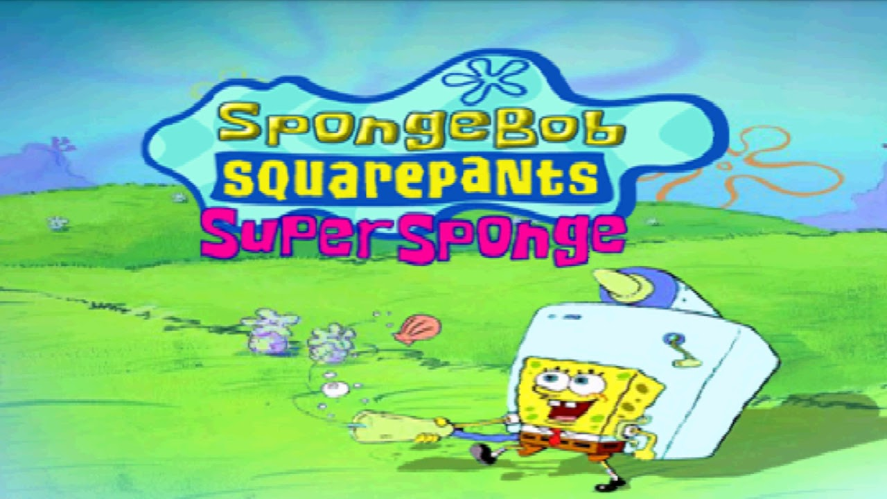 spongebob squarepants supersponge gba