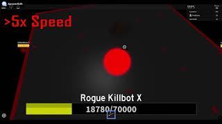ROBLOX: Parfaitement Standard Elevator: j'ai battu Rogue Killbot X.