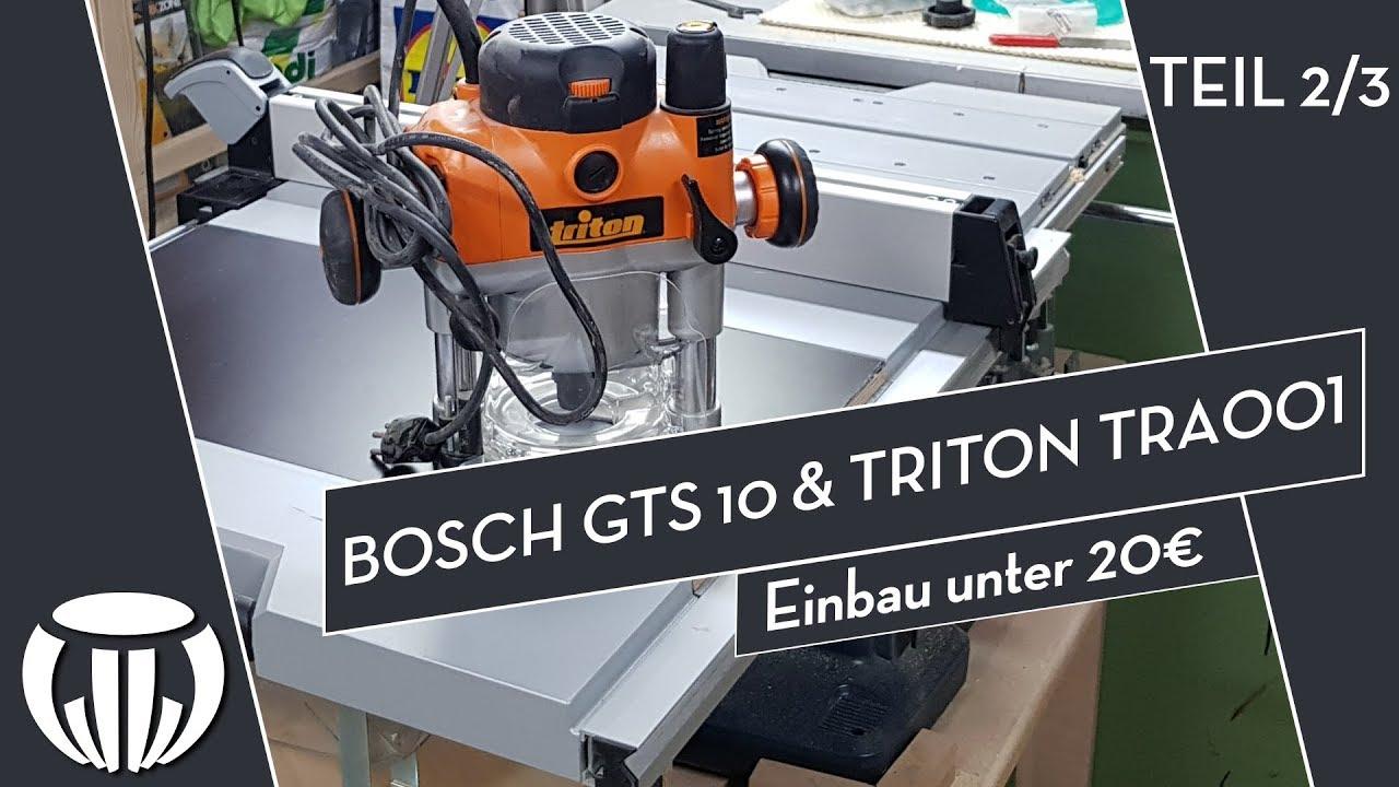 Bosch Gts 10 Xc Mit Untergestell : bosch gts 10 xc mit triton tra001 einbau unter 20 2 3 ~ Watch28wear.com Haus und Dekorationen