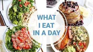 What I Eat In A Day - SPRING | HEALTHY VEGAN RECIPES