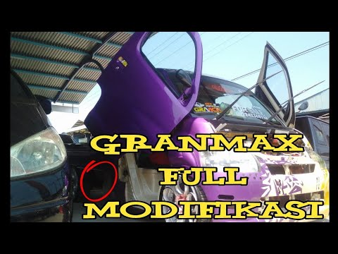 WOW !! GRAN MAX  FULL MODIFIKASI,SADIS - KDRT toretto