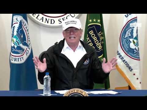 President Trump Border & Immigration Roundtable At Texas Border 1/10/19