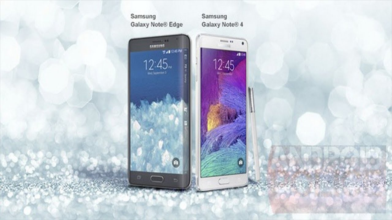 NEW Samsung Galaxy Note 4 Edge LEAKED 2014 Picture