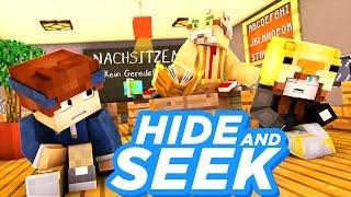 HETTY'S ERSTER SCHULTAG!! | Minecraft Hide and Seek