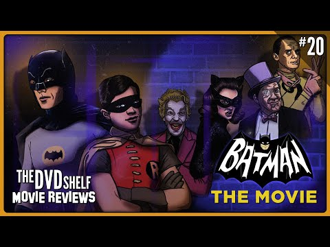 BATMAN: THE MOVIE [1966] | The DVD Shelf Movie Reviews
